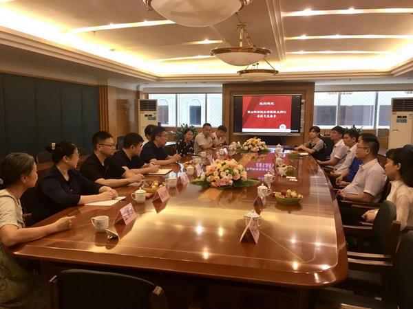 郝志峰校长带队赴广东省九江酒厂有限企业走访校友