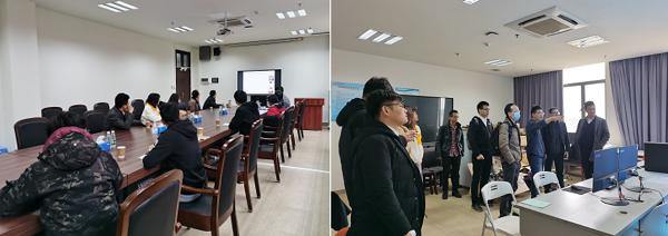 机电工程与自动化学院智能电网和智慧能源创新团队与广东省电力设计研究院开展技术交流与合作洽谈