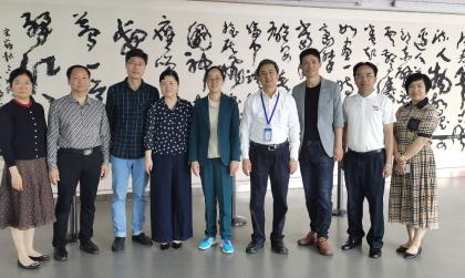 我校图书馆组织赴华南理工大学图书馆开展调研学习