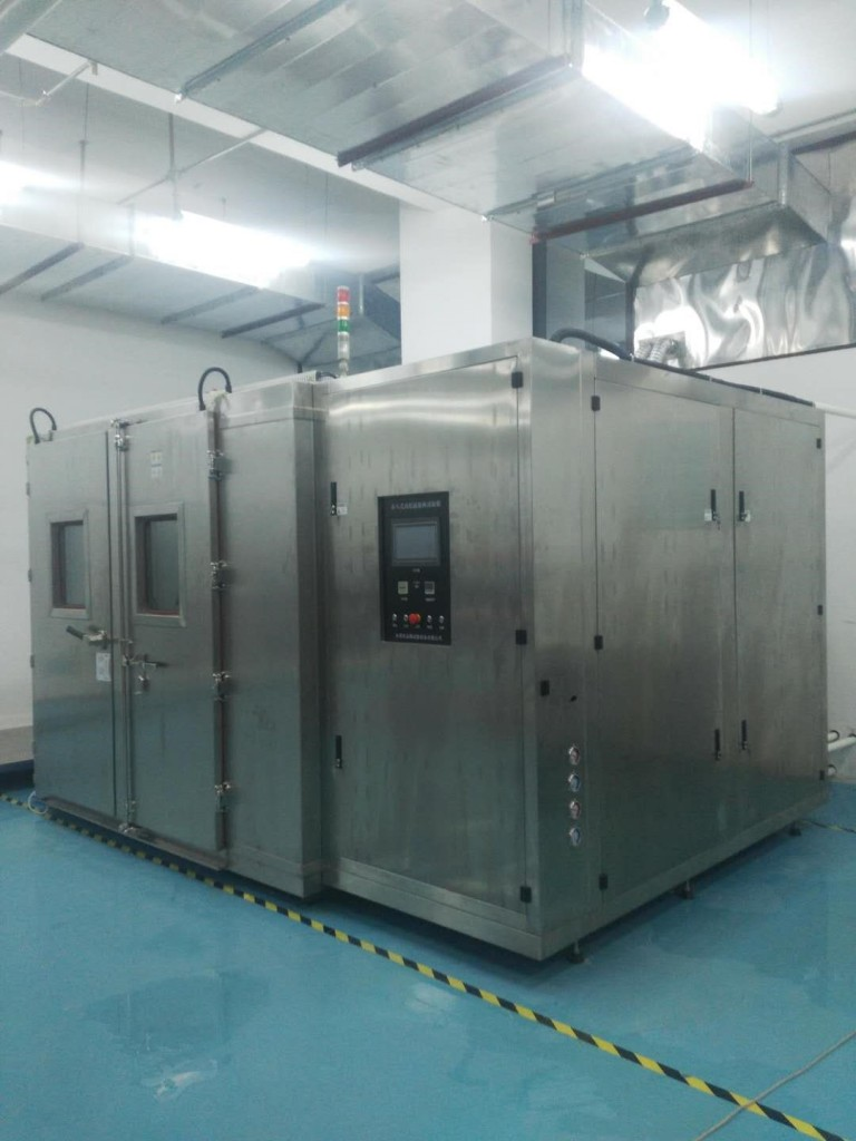 图4. 步入式环境试验箱